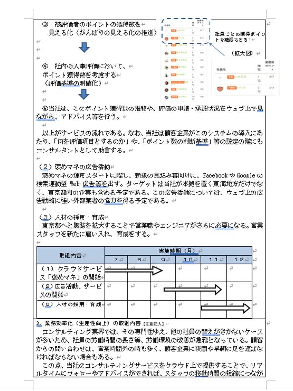 補助事業計画書02
